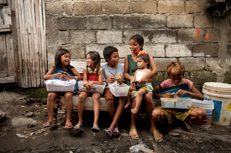 OCC - Philippines Flood Affected kids
